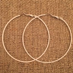 Accessories - Medium Hoop Earrings - 3""